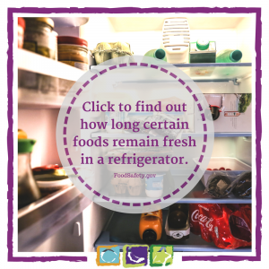 FoodSafety.gov is an awesome resource for food safety and refrigerator times. Click for more information about spoiled food.