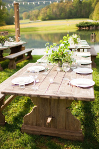 Mountain Table Setting
