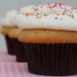 Upclose cupcakes