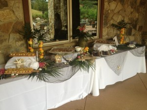 A luau from a recent Serendipity event