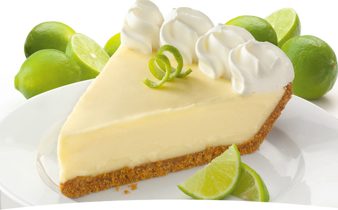 Key Lime Pie Slice Key lime pie