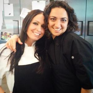 Head Pastry Chef Meghan and Assistant Pastry Chef Rachel