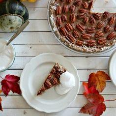 Pecan Pie with Vegan Whipped Cream