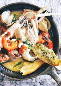 tarragon-butter-seafood