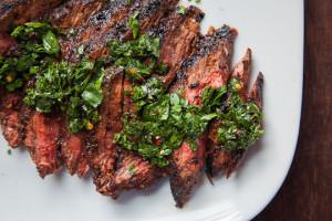 Steak chimmichurri