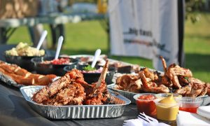 Barbecues are a great, cost-effective option for your next summer company event.